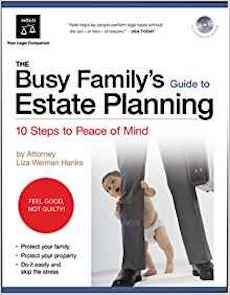Liza's Book on Busy Family's Estate Planning