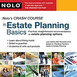 Liza's Book on Crash Course on Estate Planning